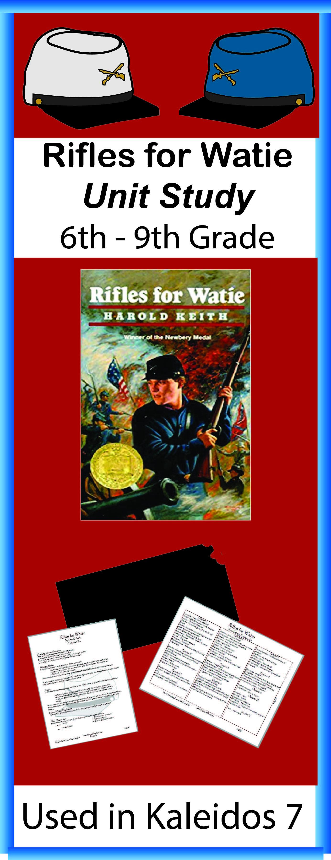 Rifles For Watie Unit Study