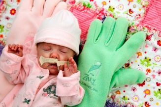 Necessity drives mother's invention that comforts babies