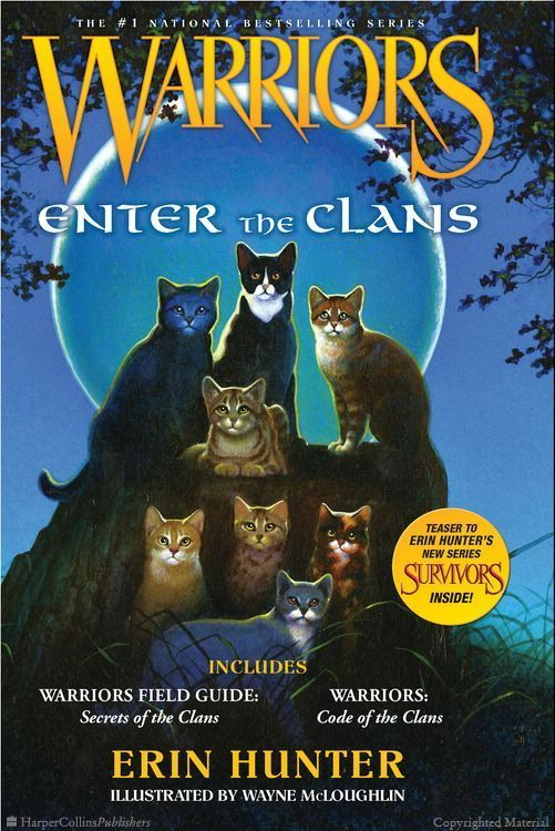 Warriors Enter The Clans By Erin Hunter A Field Guide To Secrets