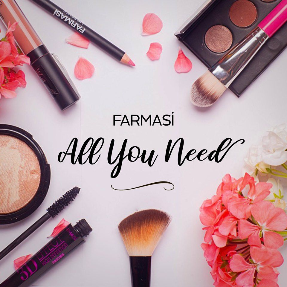 Farmasi makeup & skin care products are high quality