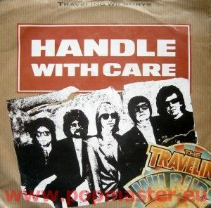 """TRAVELING WILBURYS HANDLE WITH CARE 7"""" W 7732"""