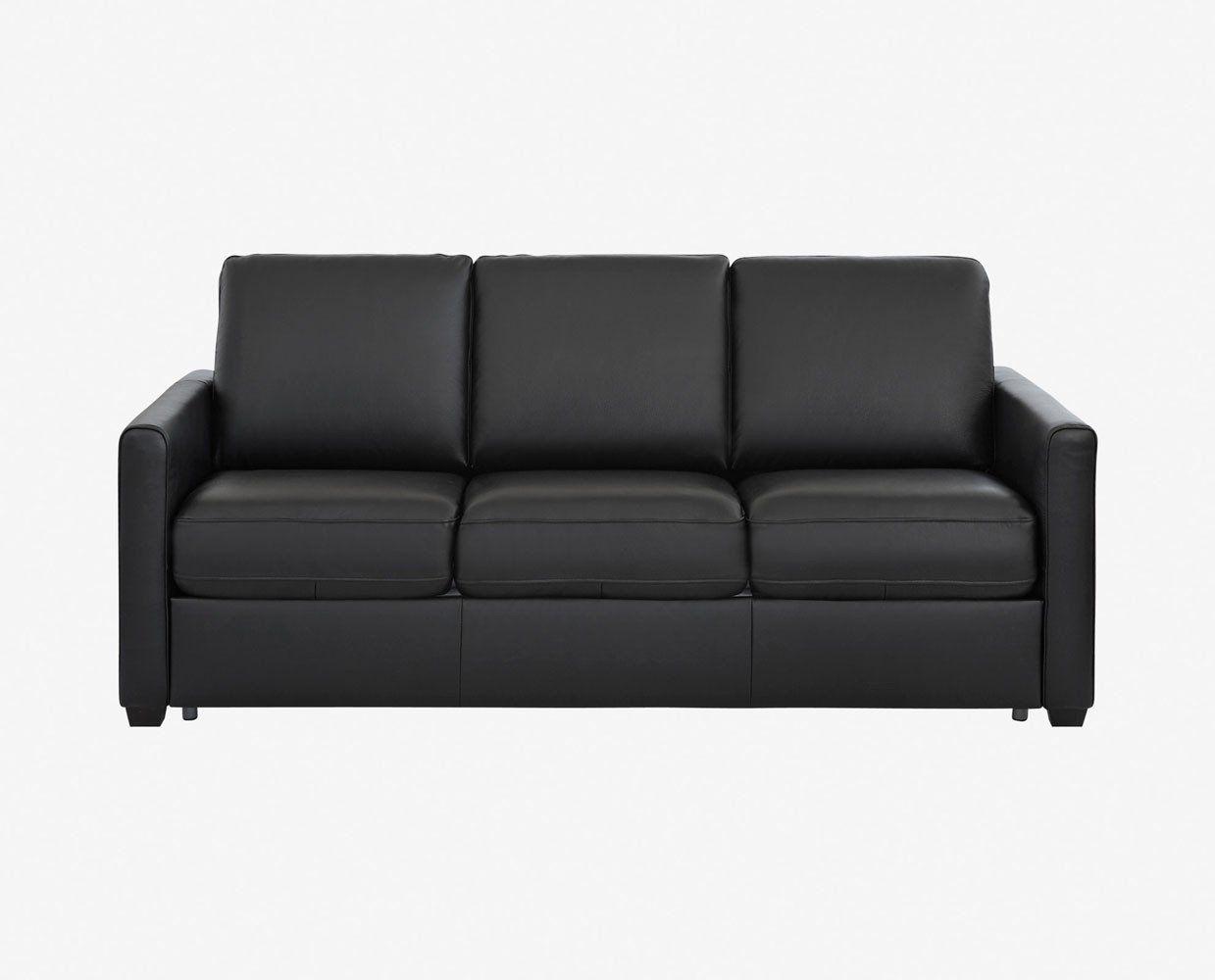Jonas Leather Sofa Sleeper U2013 Scandinavian Designs