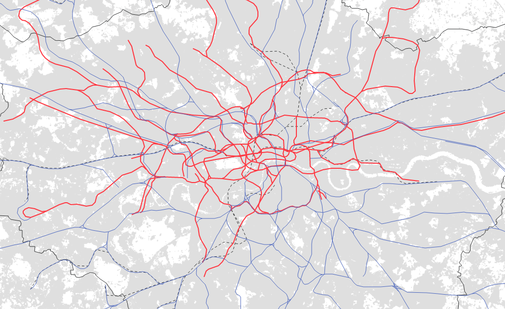 Infrastructure of mobility, London - Urban Age LSE