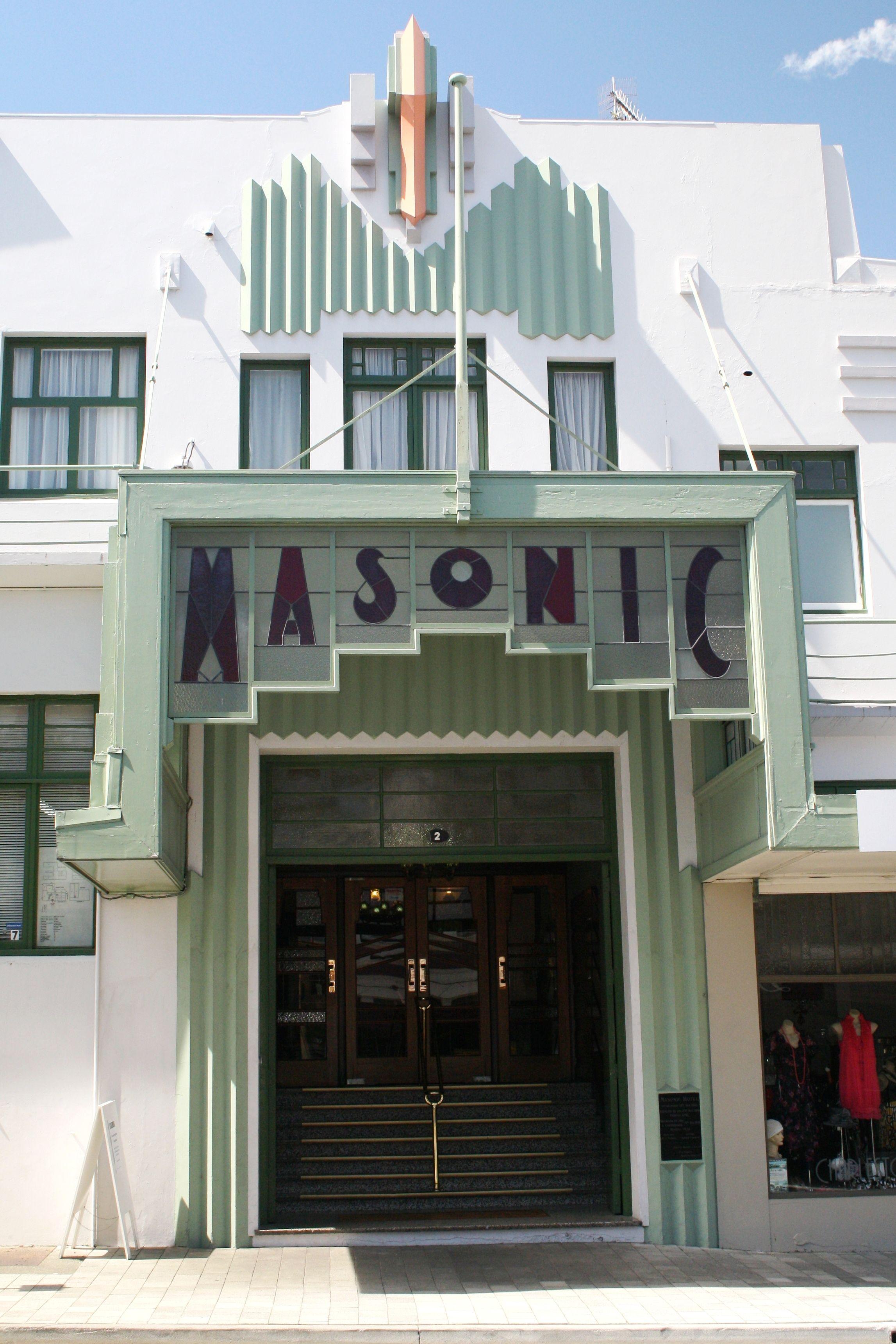 Napier new zealand art deco buildings google search my for Deco hotel napier