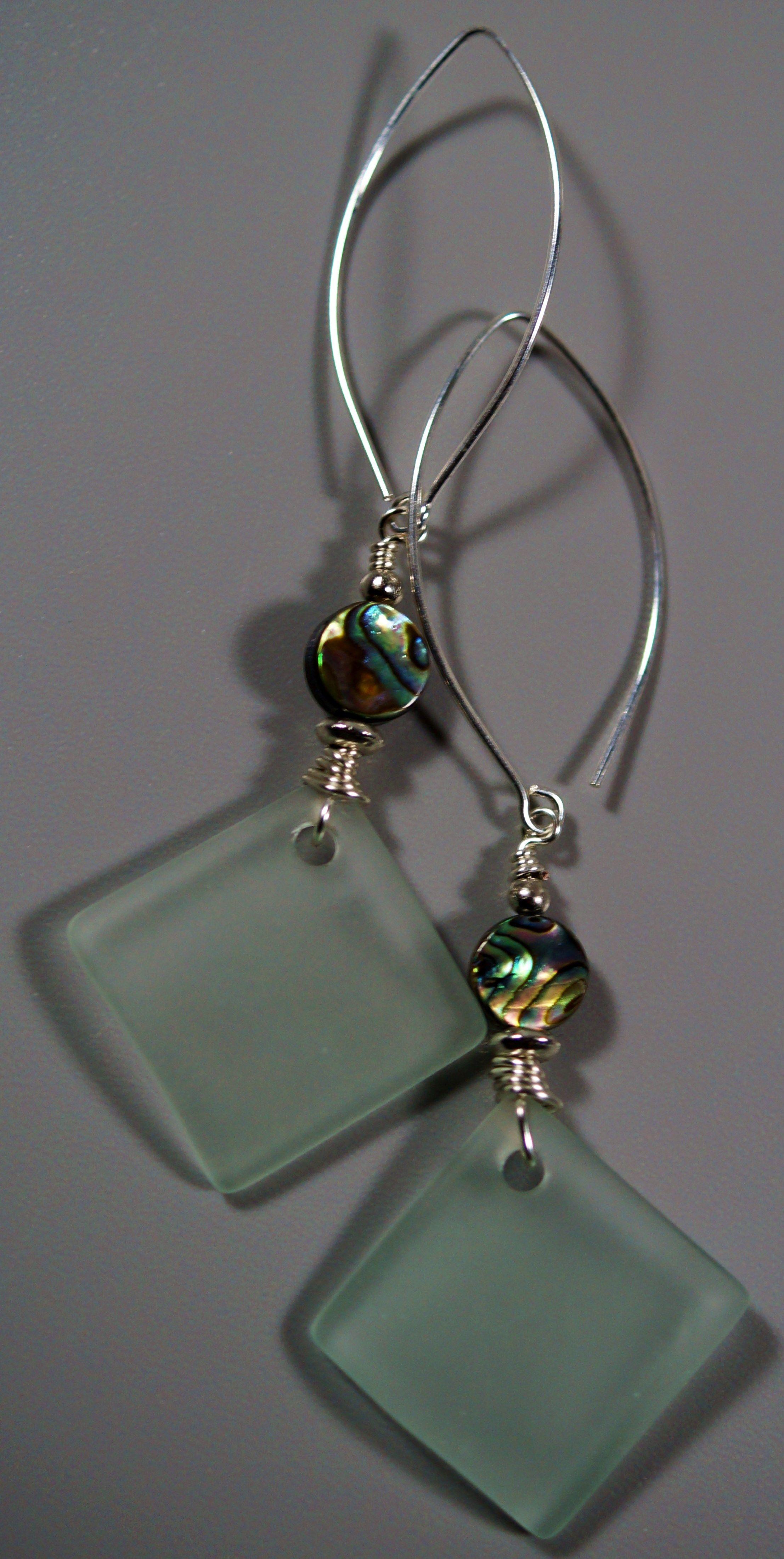 Beach Glass & Abalone