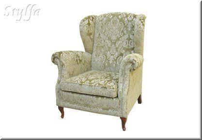 Párizs füles Fotel barokk lábbal. | Füles fotel, Fotel, Kanapé