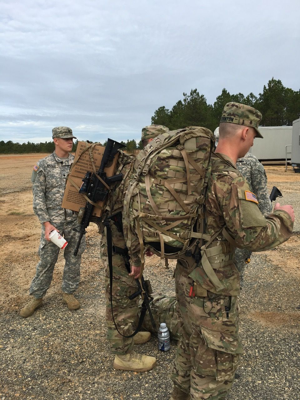 Pack Mule Frames Being Tested By Soldiers Military Guns