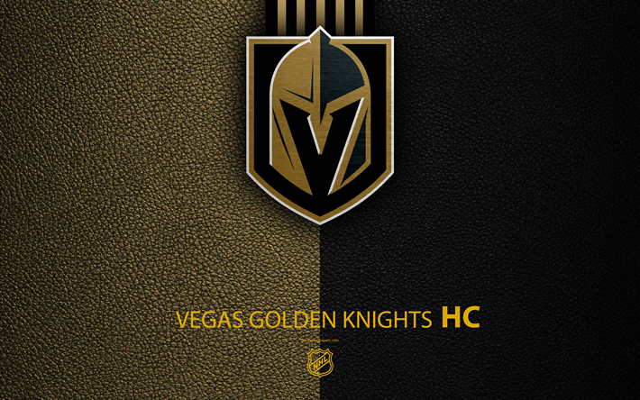 Download Wallpapers Vegas Golden Knights Hc 4k Hockey Team Nhl Leather Texture Logo Emblem National Hockey League Las Vegas Nevada Usa Hockey Weste Vegas Golden Knights Golden Knights Golden Knights Logo