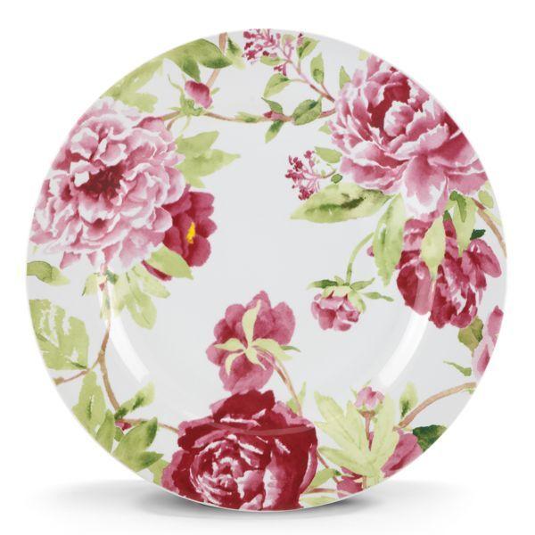 Dinnerware  sc 1 st  Pinterest & kathy ireland Home® Blossoming Rose Salad Plate by Gorham® http ...