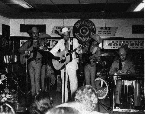 Ernest Tubb and Band at the Midnight Jamboree at the Ernest Tubb Record Shop   Record shop, Records, Generation