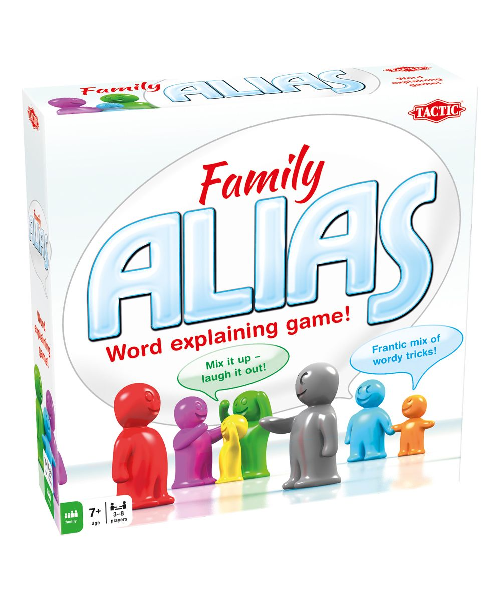 Family Alias Game Family board games, Tactic games