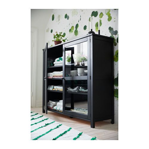 SÄLLSKAP Glass-door cabinet  - IKEA 12990