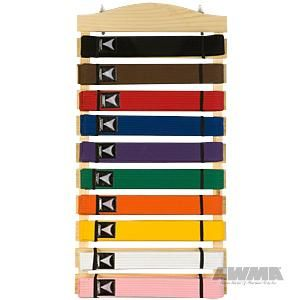AWMA Martial Arts Karate Belt Display