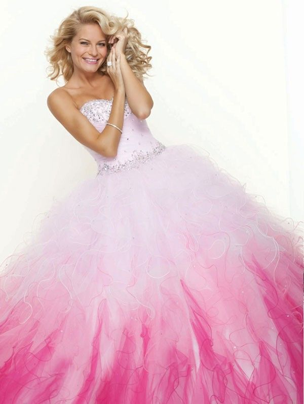 Mori Lee Paparazzi 91001 Prom Dress 2013- pink is starting to grow ...