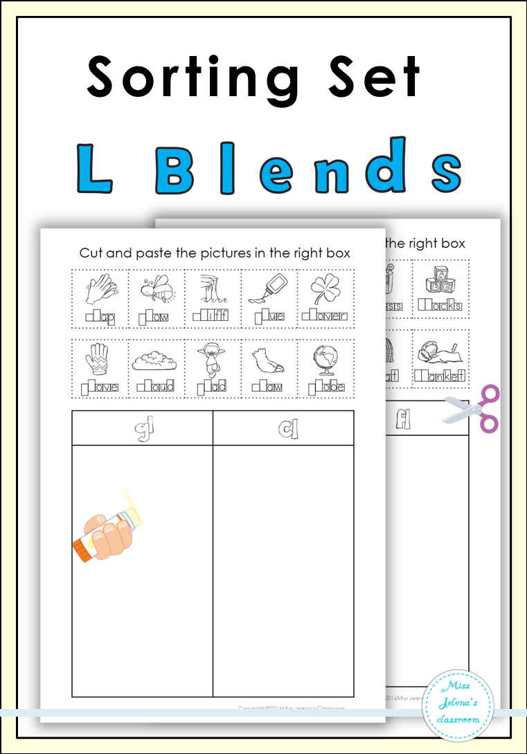 Worksheet L Blends Worksheets Carlos Lomas Worksheet For Everyone