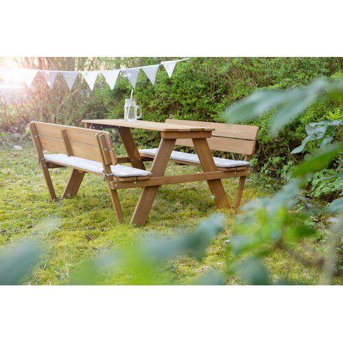 Deluxe Children S Picnic Bench Roba Kids Picnic Table Picnic Bench Bench Table And Chairs