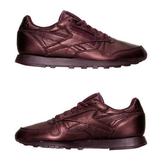 Reebok Classic Leather X Face Stockholm Women S Casual Purple Ambition Authentic Reebok Classic Black Sneaker All Black Sneakers