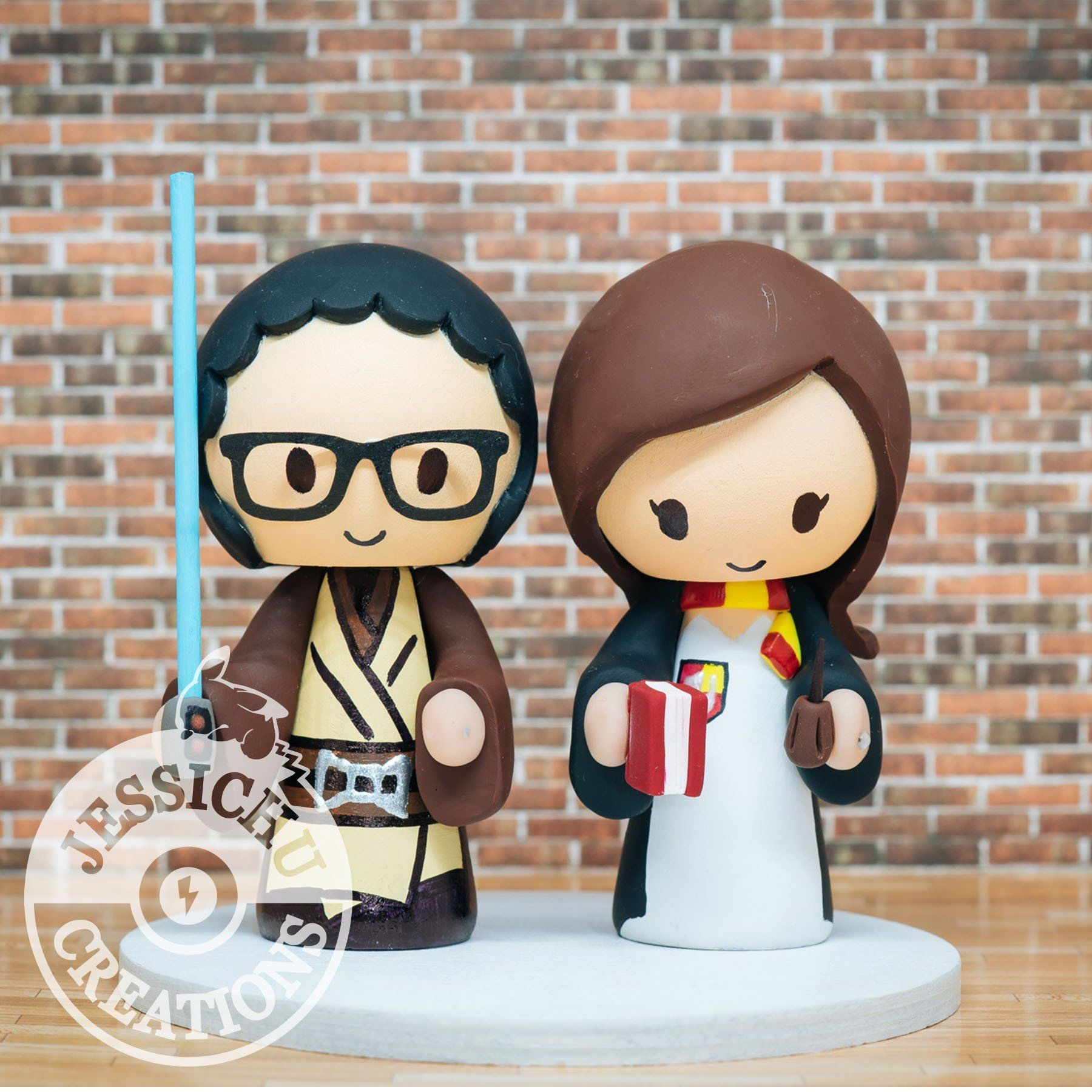 Wedding cake topper figurines costume type custom order products