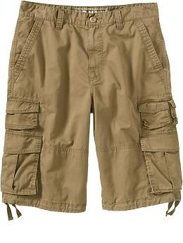 Men S Lightweight Twill Cargo Shorts 12 Old Navy Cargo Shorts Mens Outfits Teenage Boy Fashion
