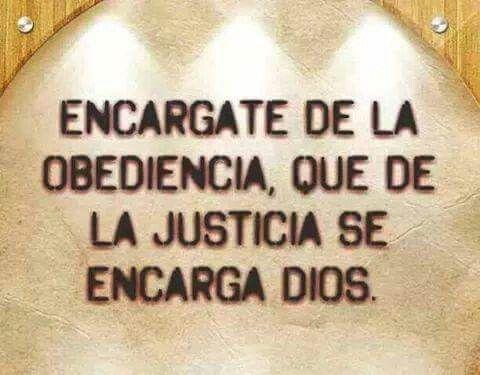 La Justicia Solo Dios Nos Las Puede Dar Ya Sea Para