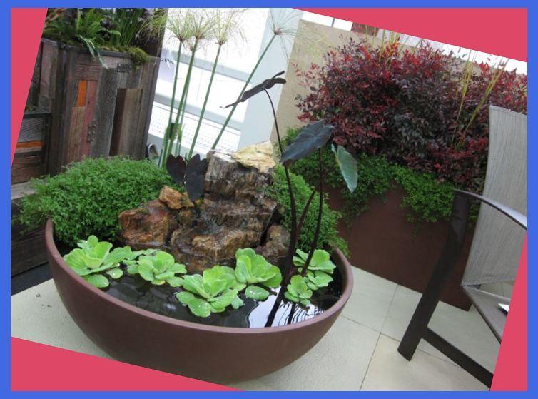 30 Unique Garden Design Ideas Container Water Garden 400 x 300