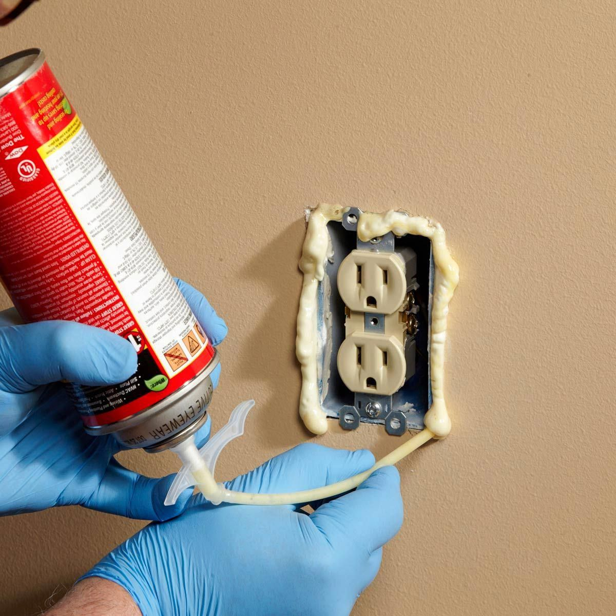 Outlet Insulation Stops Cold Air Coming Through Electrical