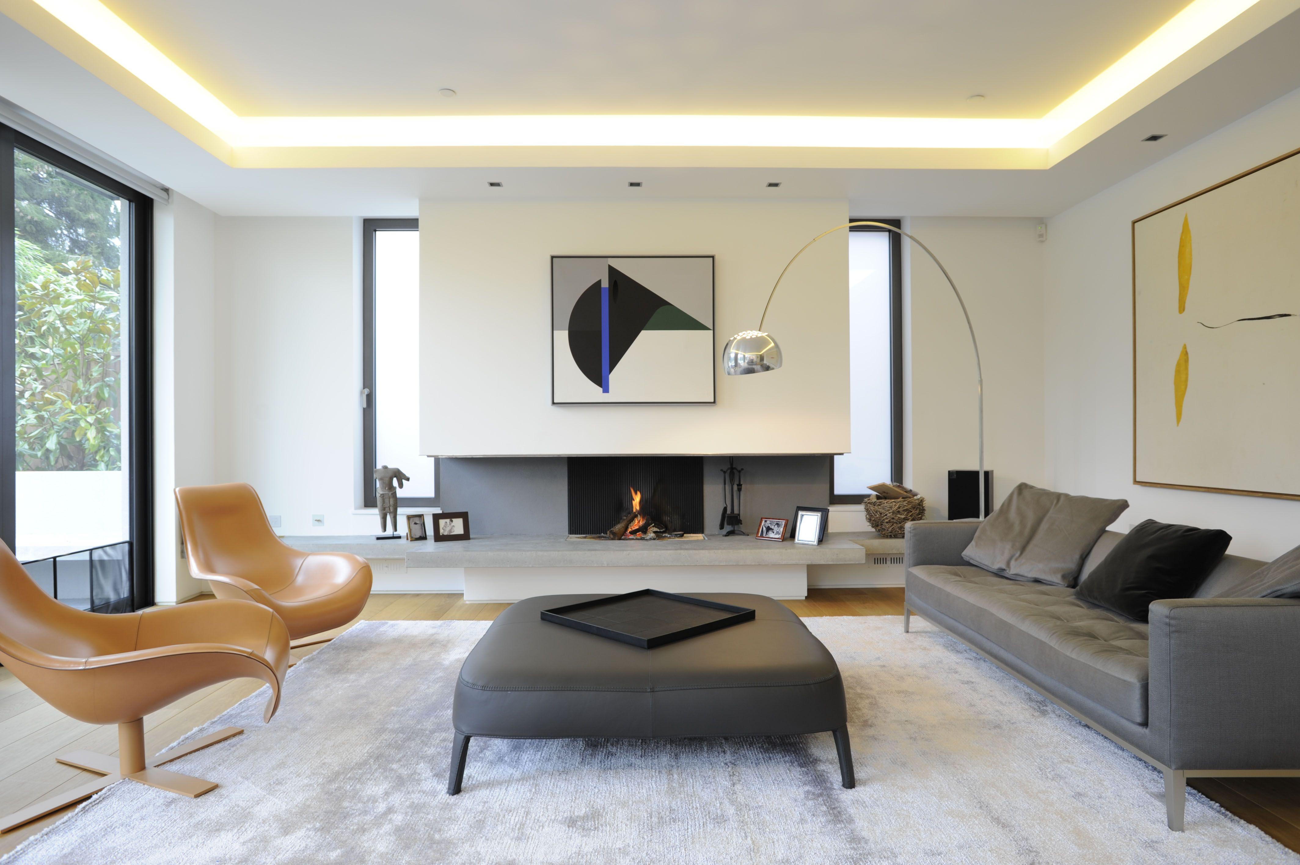 Living Room | Private House | Wimbledon SW19 | gilespike.com ...
