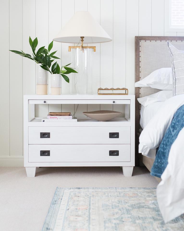 Ace Nightstand White Wash in 2019 Bedroom dresser