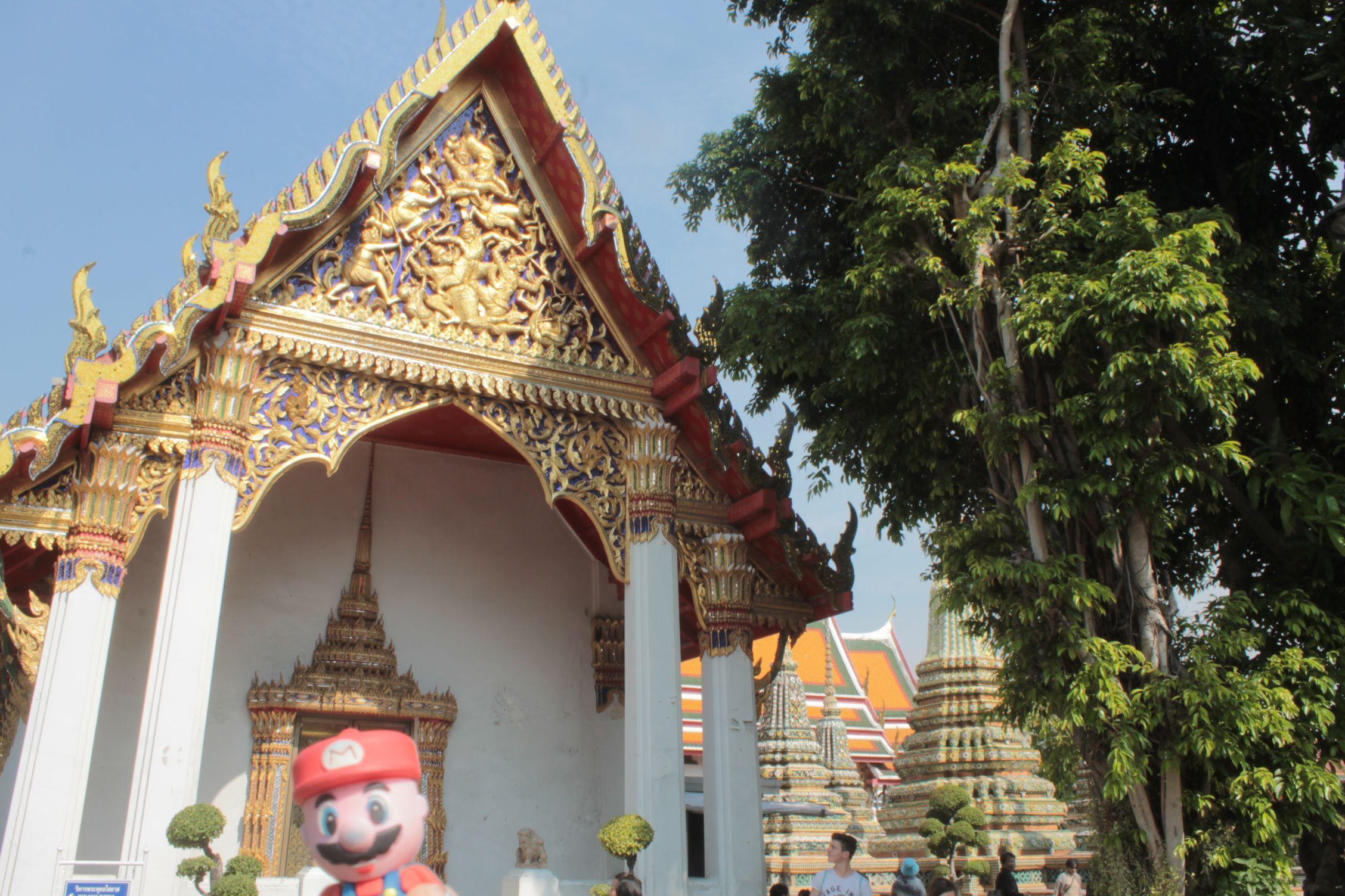 Mario en What Poh, Bangkok