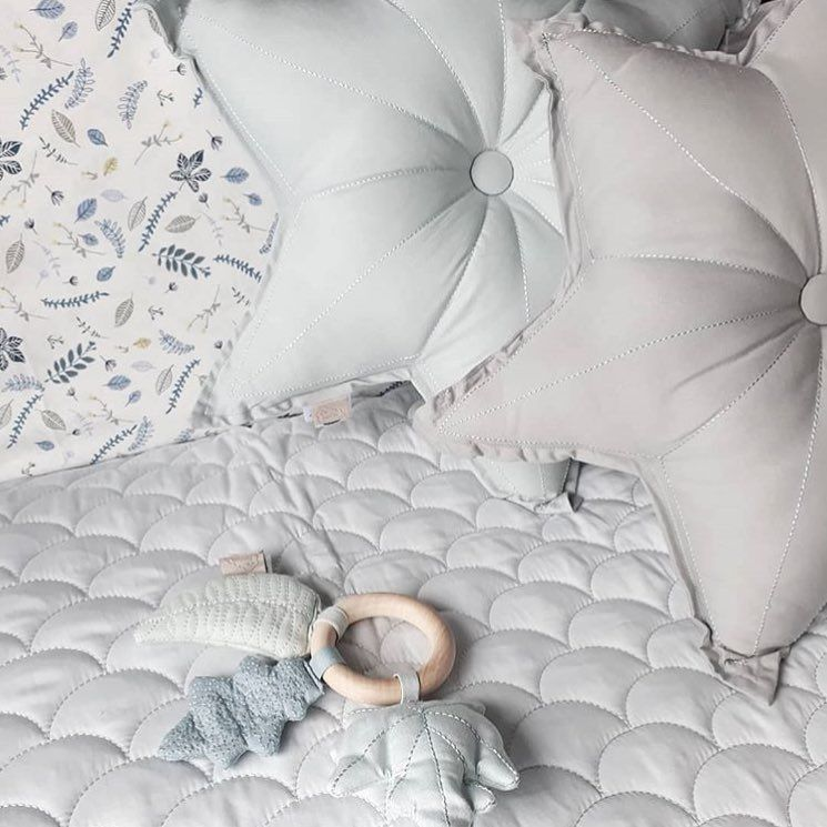b575df713ec Wave Quilt and Star cushions by Cam Cam Copenhagen. | baby things ...
