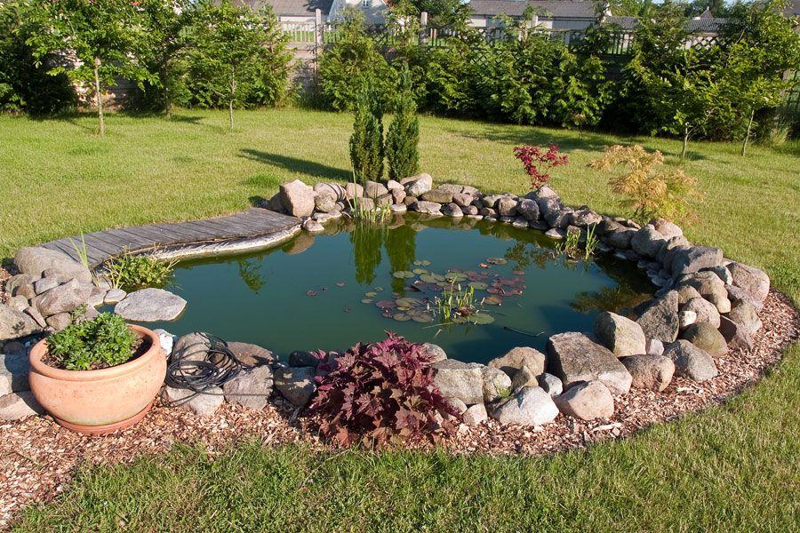 Kleiner Gartenteich Brunnen und Teich Pinterest Kleiner - gartenteich anlegen kosten