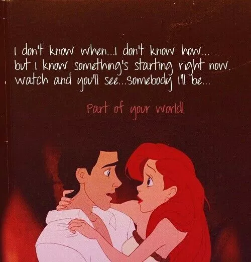 Love Memes Funny I Love You Memes For Her And Him Disney Quotes Quotes Disney Little Mermaid Quotes
