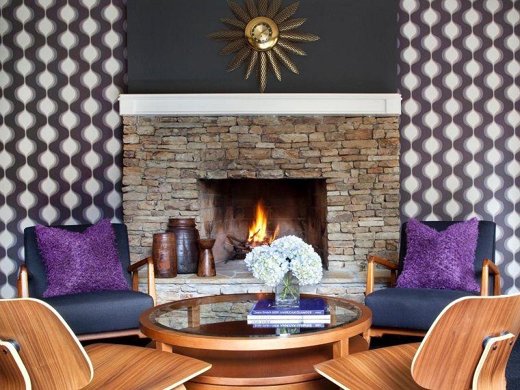 Tipos de chimeneas perfectas para un hogar acogedor Chimeneas de