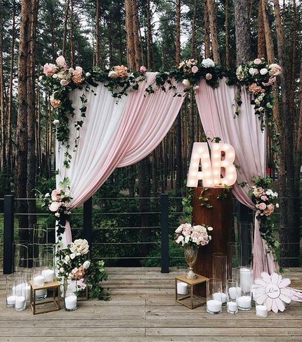 40 wedding backdrop ideas backdrops weddings and wedding 40 backdrop wedding ideas 19 junglespirit Image collections