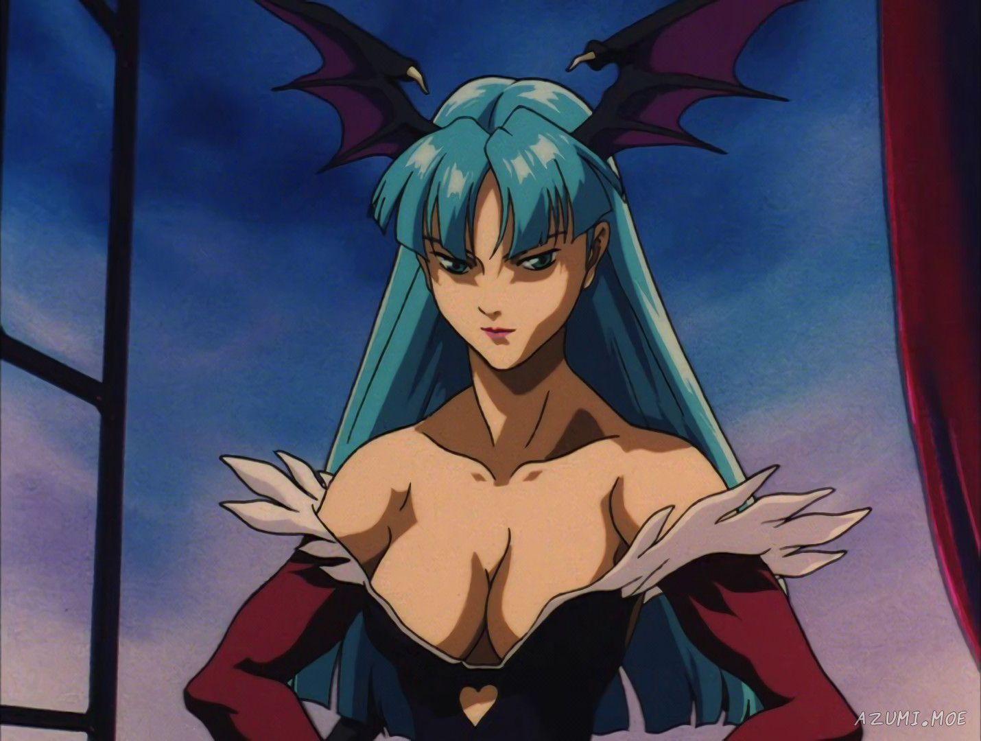 morrigan-aensland-night-warriors-darkstalkers-revenge-anime-552.jpg  1,430×1,080 pixels | Anime, Anime warrior girl, Anime characters