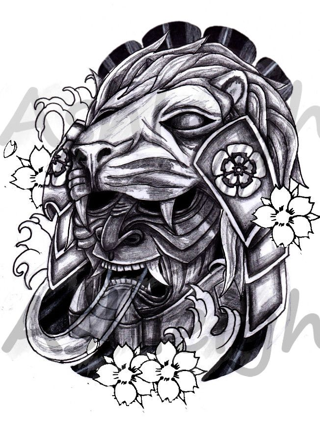 35a3373e2f722 Pin by ENGR. Kim on Circles | Japanese mask tattoo, Mask tattoo ...