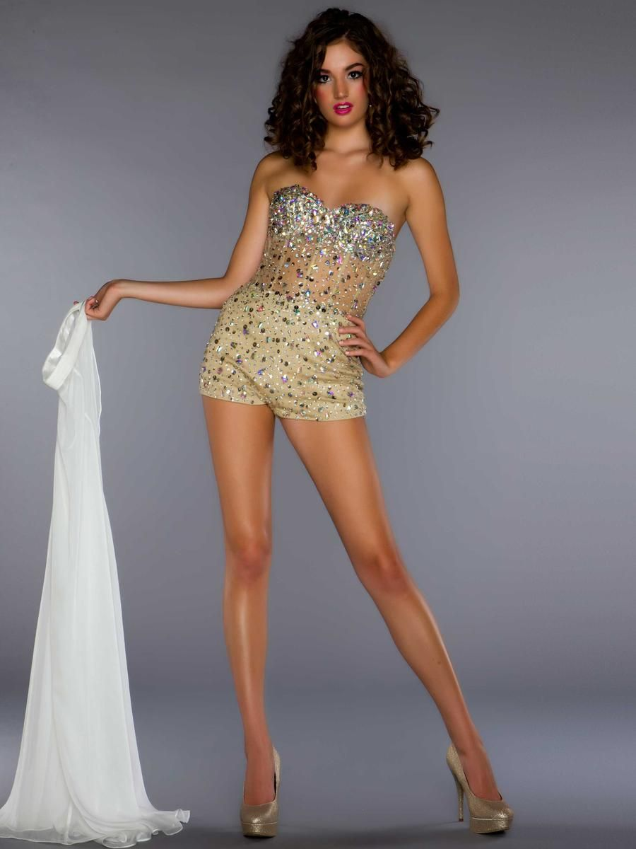 Unique gold prom dress kinda really into this prom pinterest