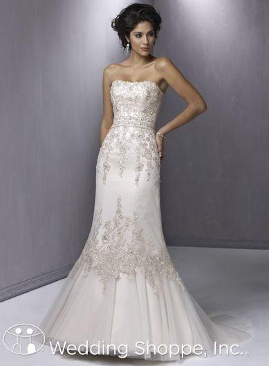 Vestido de novia sirena / Mermaid wedding gown | Vestidos de Novia ...