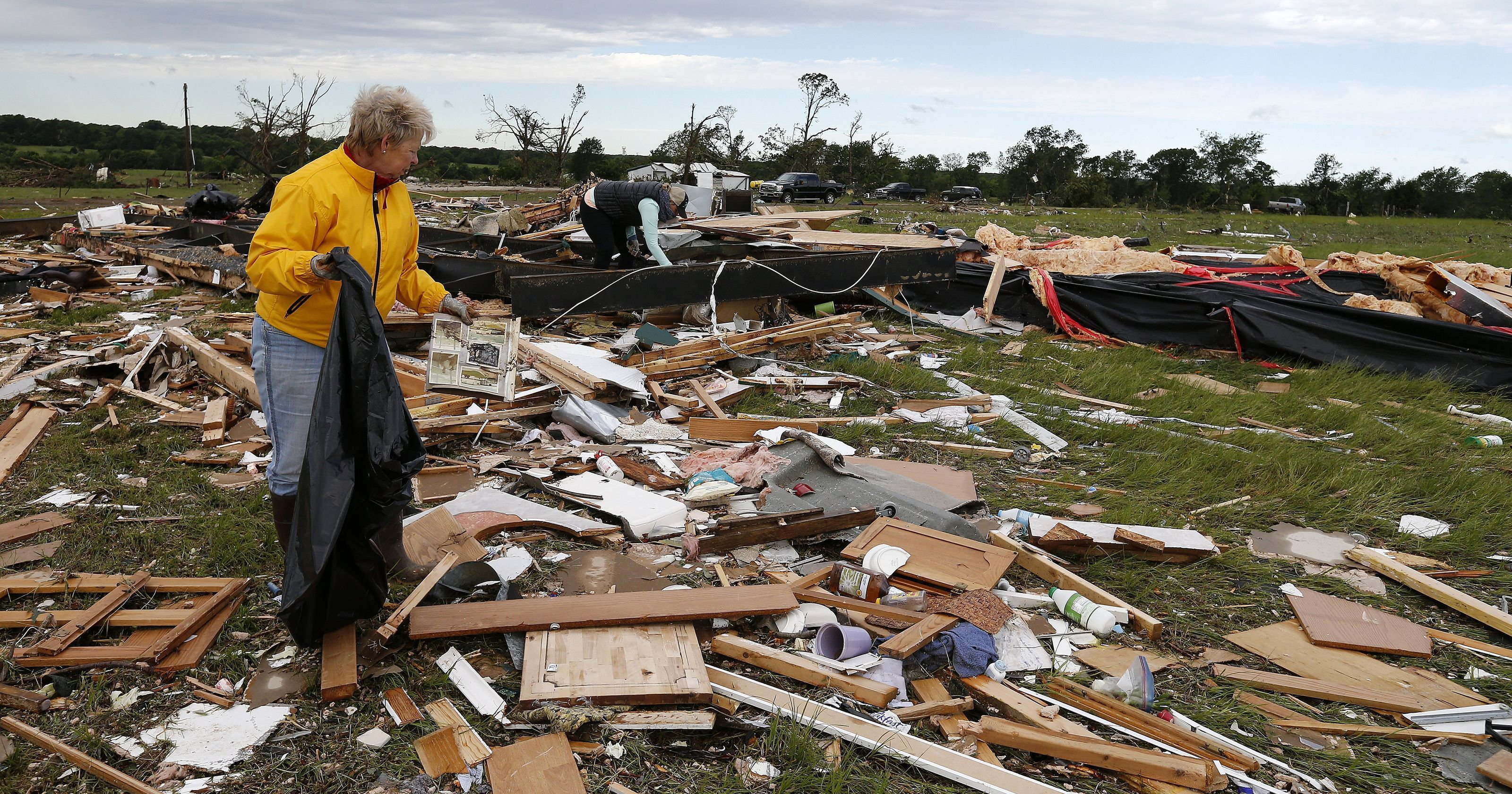 Severe weather leaves trail of destruction squib severe