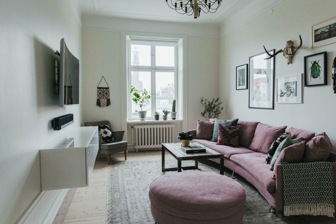 Scandi boho style in a small apartment | Home decor ...