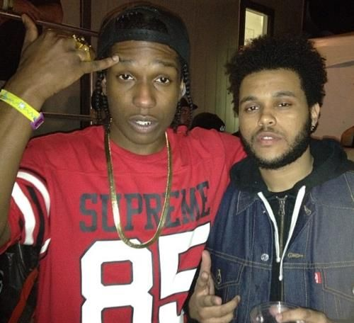 The weeknd asap rocky