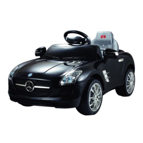 Electric Cars For Kids To Ride Black 6V