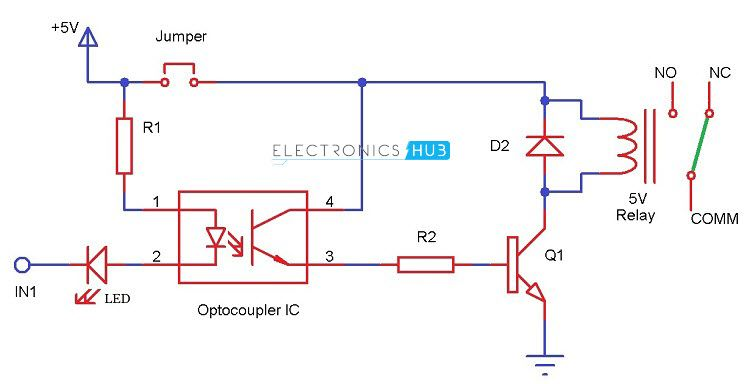 Arduino Relay Wiring Diagram from i.pinimg.com
