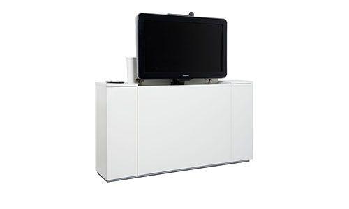 Tv Uit Kast.Tv Lift De Oplossing Middels Een Speciaal Lift Mechanisme Komt Uw