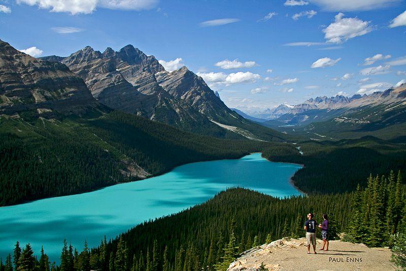 Peyto Lake To View - Banff, British Columbia