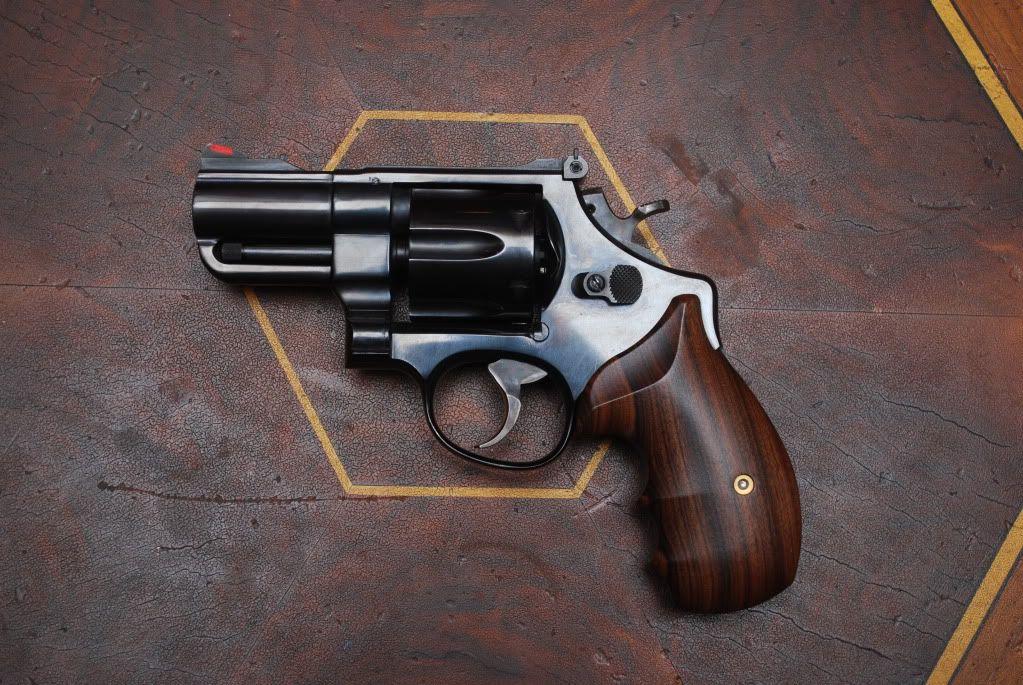 S&W Model 25, .45acp, custom 3\