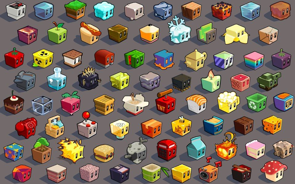 Game Character Design Apps : Lost cube game app store characters pinterest cube games