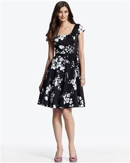 Not really staying in line with my colors (pink and grey), but a floral pattern like this might work with the pink.  I just love White House Black Market too much, lol.