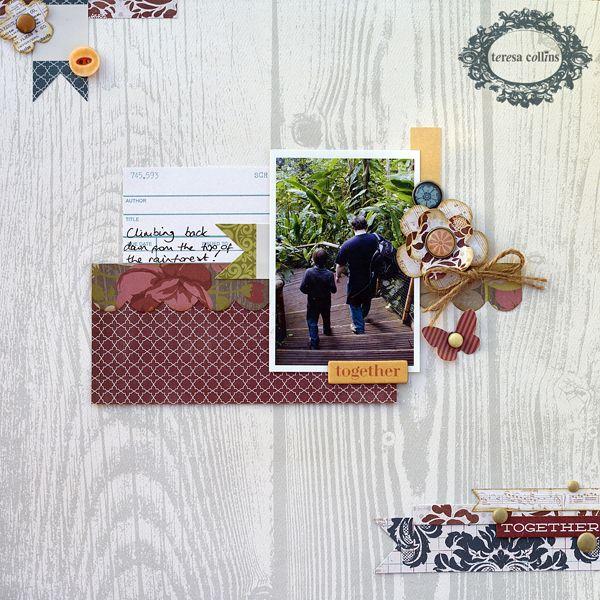 TERESA COLLINS DESIGN TEAM: Together layout by Amanda Jones using Now & Then