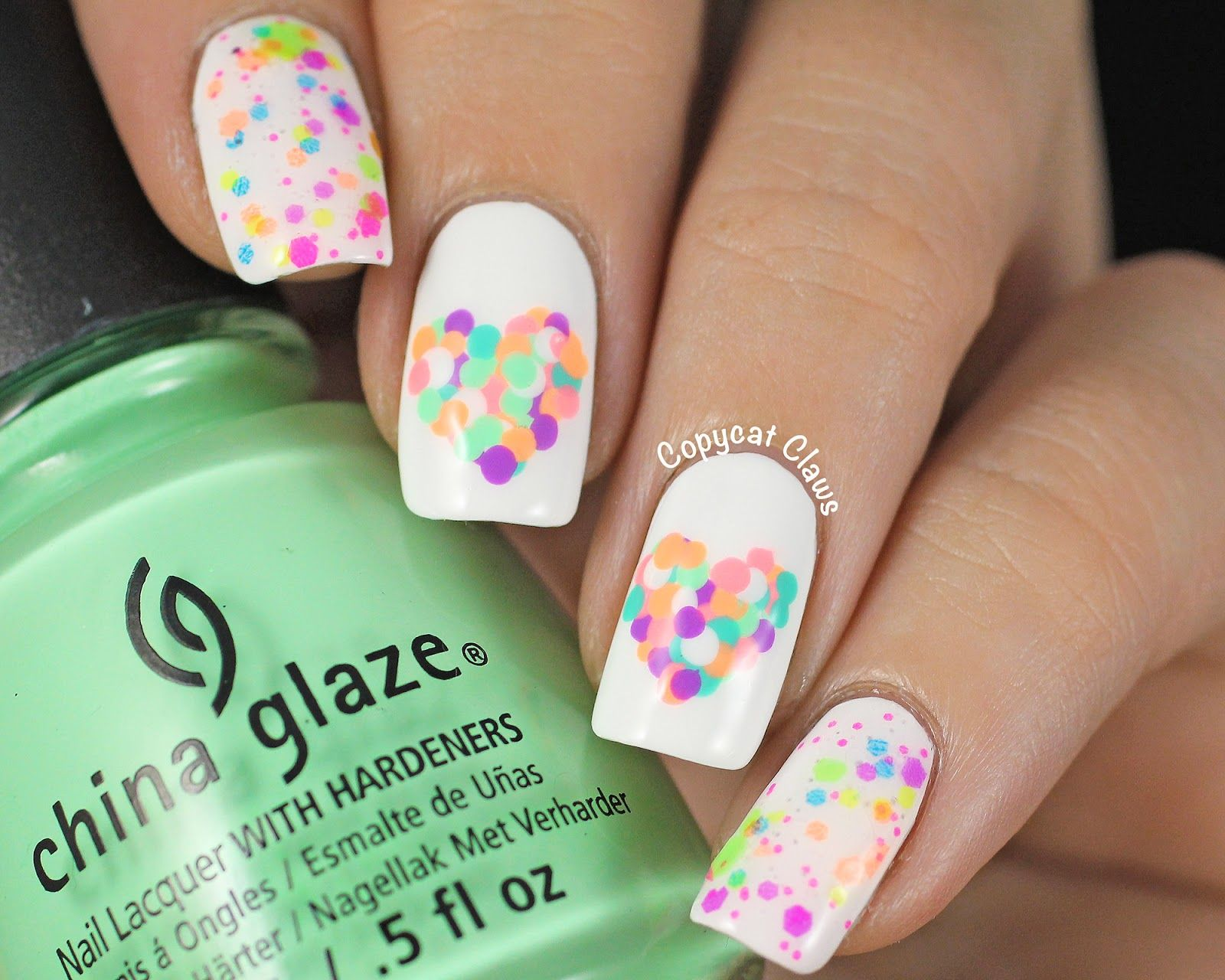 Copycat Claws: Mani Swap with Colors Frenzy | Nail Art - Dots and ...